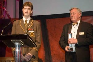 Stingers receive Engineers Australia National Presidents Award